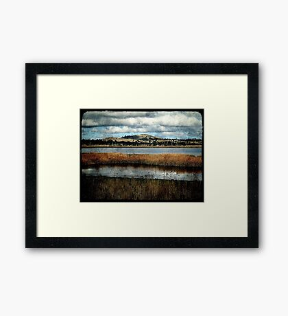 The Birdwatching Hut - Dangars Lagoon, Northern Tablelands, NSW, Australia Framed Print