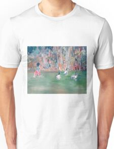 CHILD and GEESE Unisex T-Shirt