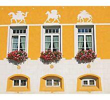 Yellow Building Photographic Print