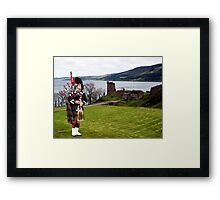 The Lone Piper Framed Print