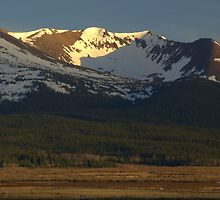 Mountains above South Park by Paul Gana