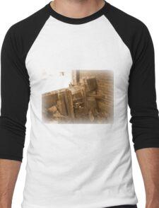 Filing Men's Baseball ¾ T-Shirt
