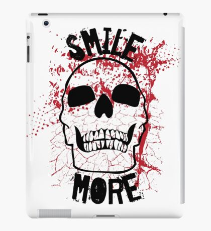 Smile More! iPad Case/Skin