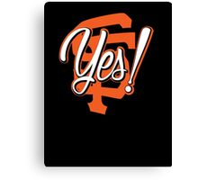 Yes! SF Canvas Print