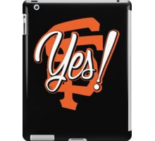 Yes! SF iPad Case/Skin