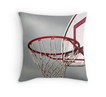 Hoop Dreams Throw Pillow