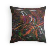 THRU THE EYES OF GHOSTS Throw Pillow