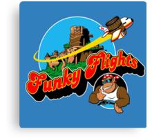 Funky Flights  Canvas Print