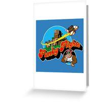 Funky Flights  Greeting Card