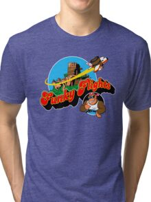 Funky Flights  Tri-blend T-Shirt