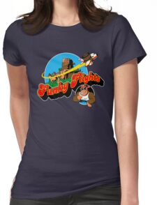 Funky Flights  Womens Fitted T-Shirt