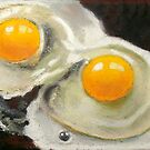 FRIED EGGS by Joyce