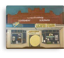 Wightman's Building Canvas Print