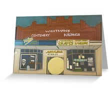 Wightman's Building Greeting Card