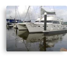 Twin-Hulled Cruiser Metal Print