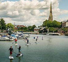 Stand Up Paddle, Bristol by Carolyn Eaton