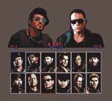 Expendables 2 8-Bit Game Kids Clothes