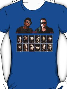 Expendables 2 8-Bit Game T-Shirt