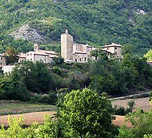 Italian village by William Mason