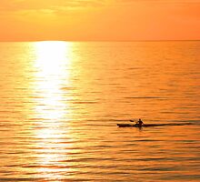 Lone Kayaker by OzShell