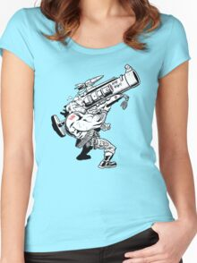 Badass Bazooka Women's Fitted Scoop T-Shirt