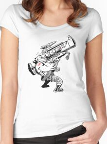 Badass Bazooka Women's Fitted Scoop T-Shirt