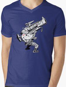Badass Bazooka Mens V-Neck T-Shirt