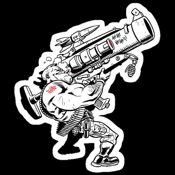 Badass Bazooka by Chris Wahl