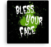 Tobuscus - Bless Your Face Canvas Print