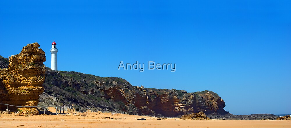 Aireys Inlet Lighthouse, Great Ocean Road, Australia by Andy Berry