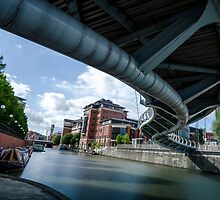 Under Valentine Bridge, Bristol by Carolyn Eaton