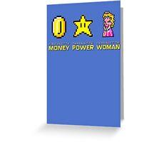 Scarface parody Mario Bros Greeting Card