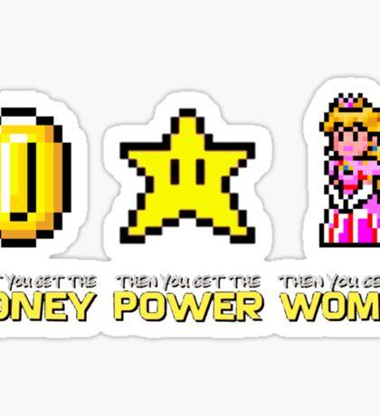 Scarface parody Mario Bros Sticker