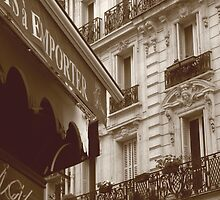 Backstreets of Paris by MarieJones