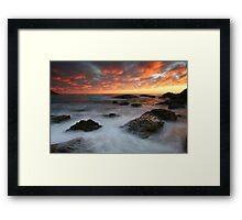 Creator at Work Framed Print