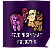 My little pony Five Nights at Freddy's Poster