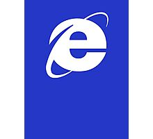 Internet Explorer: A More Beautiful Web Photographic Print