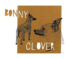 Bonnie and Clover Photographic Print