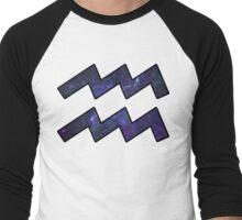 Purple Broccoli   Age of Aquarius Men's Baseball ¾ T-Shirt