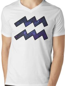 Purple Broccoli | Age of Aquarius Mens V-Neck T-Shirt