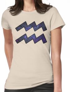 Purple Broccoli | Age of Aquarius Womens Fitted T-Shirt