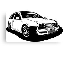 Golf Turbo Canvas Print
