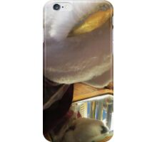 Lucy Discovers A Hand Mirror iPhone Case/Skin