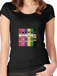 Power Rangers Zeo T-Shirt Women's Fitted Scoop T-Shirt