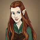 Tauriel by quietsnooze