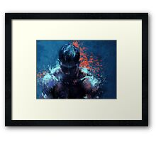 Warrior2 Framed Print