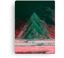 Alien Pyramid Canvas Print