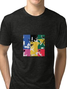 Mighty Morphin Power Rangers T-Shirt Tri-blend T-Shirt