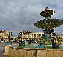 """""""Place de La Concorde"""" Paris, France by AlexandraZloto"""