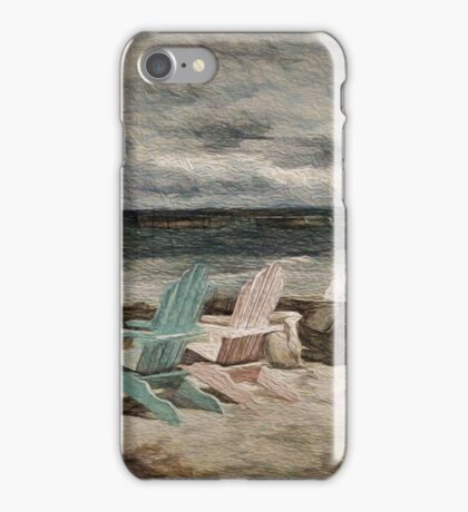 Down by he Seaside iPhone Case/Skin